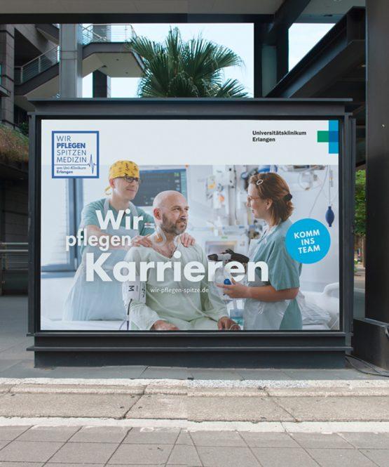 Uniklinikum Erlangen - Plakat Karriere