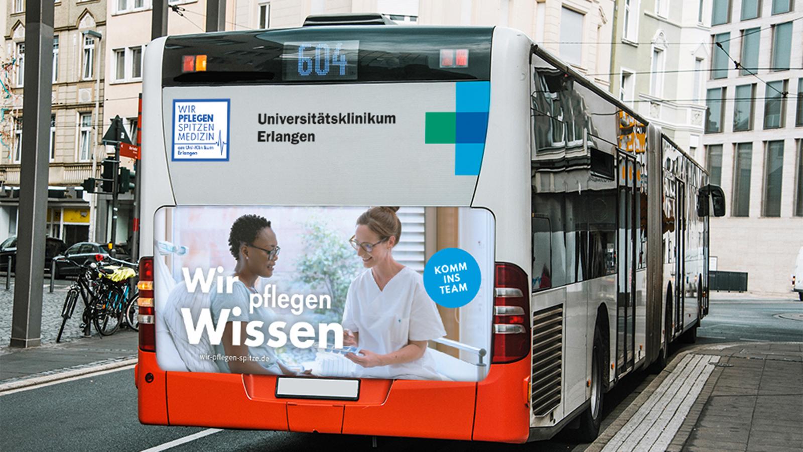 Uniklinikum Erlangen - Busbranding