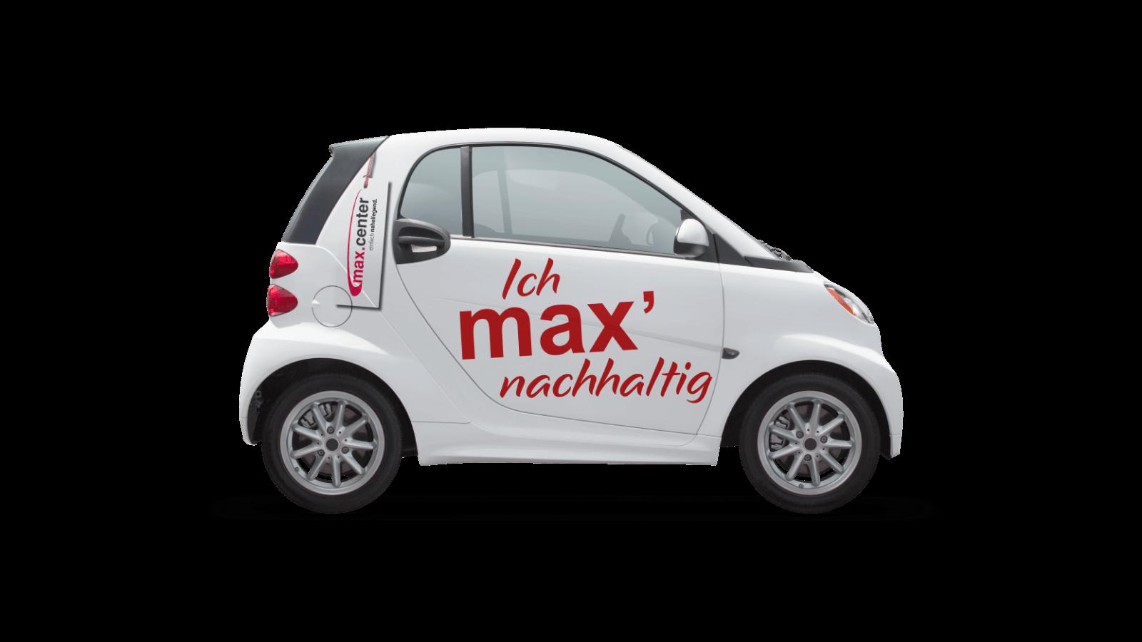 Max Center Auto-Gestaltung